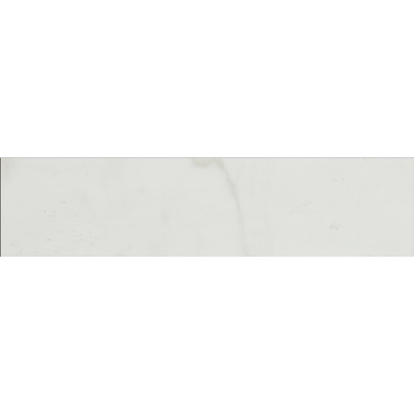Pietra Carrara 3X18 Polished Bullnose Porcelain Tile