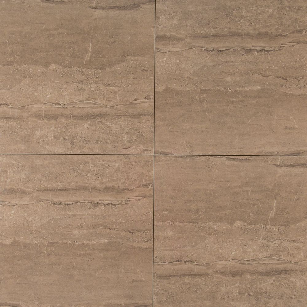 Pietra Dunes 18X18 Polished Porcelain Tile