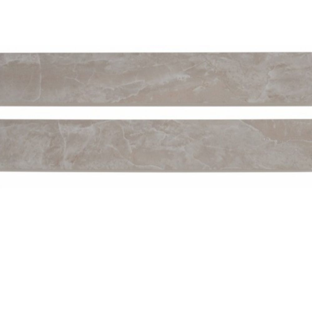 Pietra Pearl Bullnose 3X18 Polished