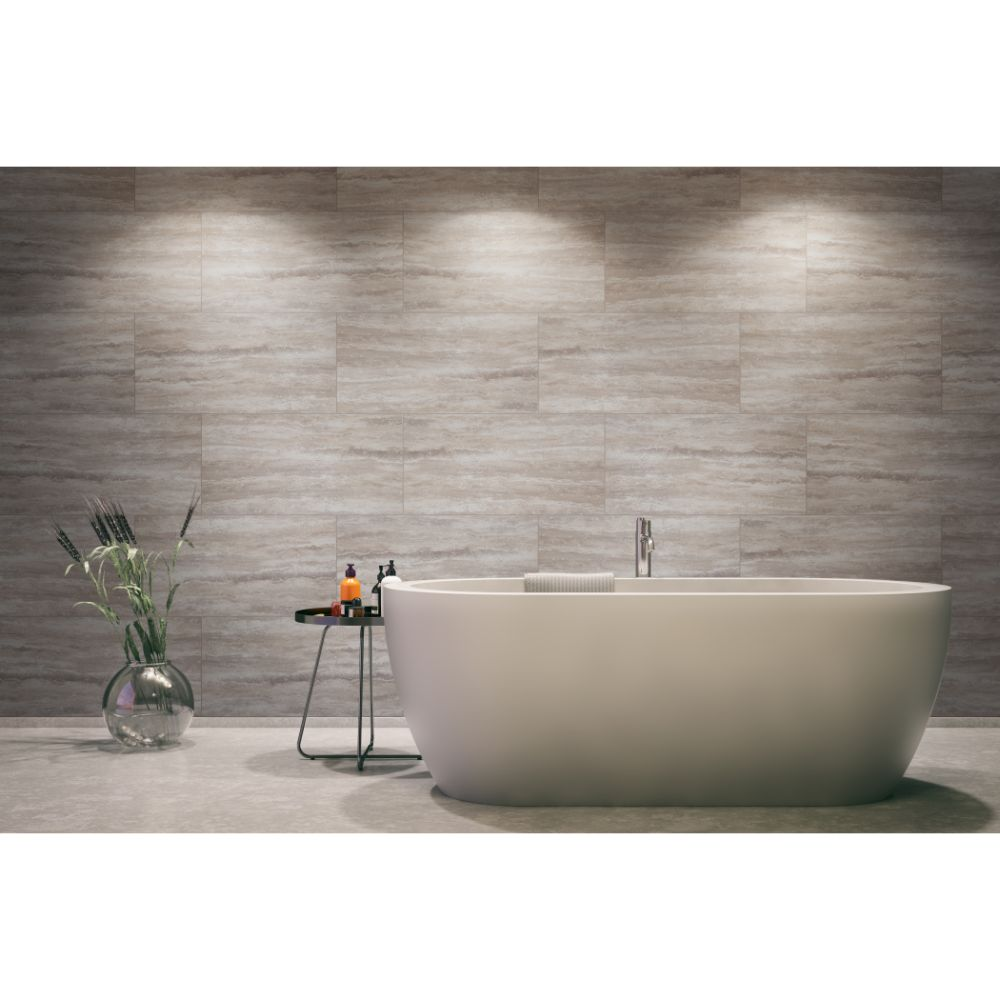 Pietra Venata Gray 16x32 Polished Porcelain Tile