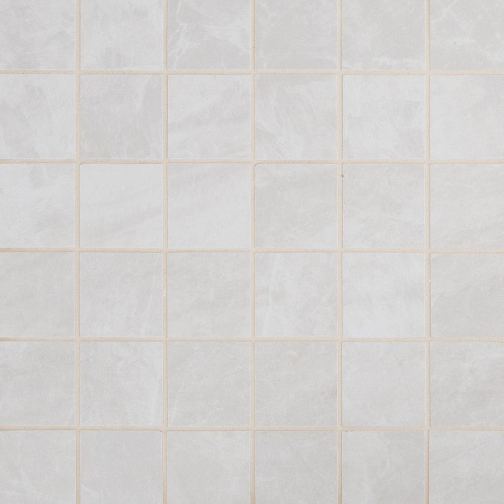 Praia Grey 2X2 Matte Porcelain Mosaic