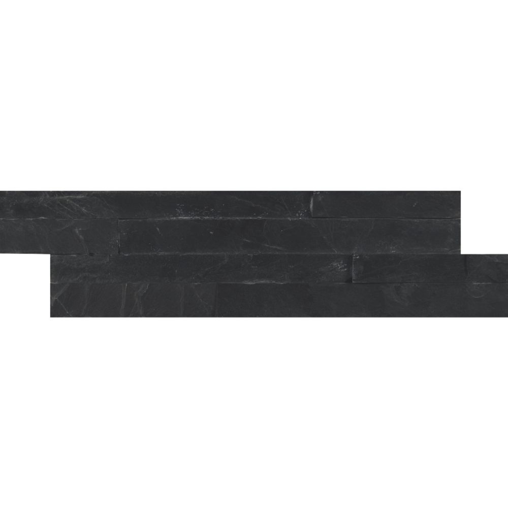 Premium Black 4.5x16 Split Face Mini Ledger Panel