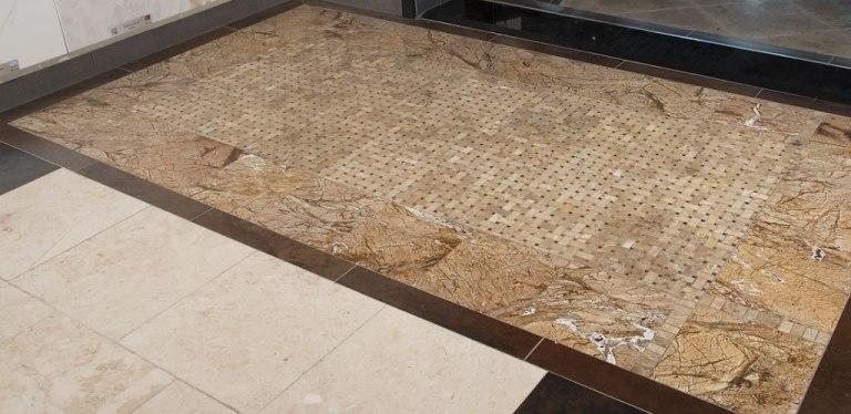 Rainforest Brown Marble Tile