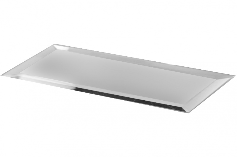 Reflections Silver 3X12 Matte Glass Tile