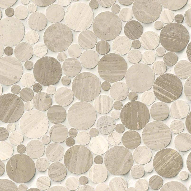 Rio Lago Serenity Polished Rounded Pebble Tile