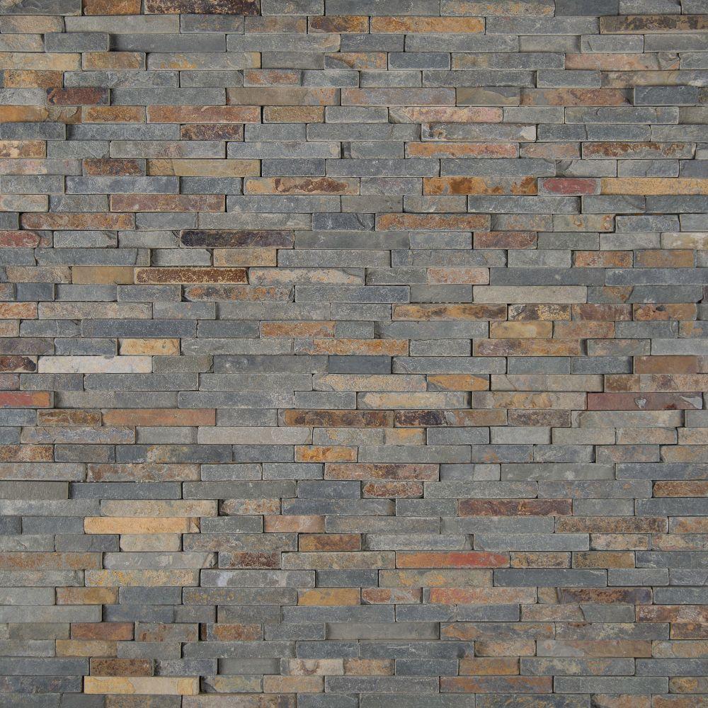 Rustique 3D Interlocking Pattern Mosaic