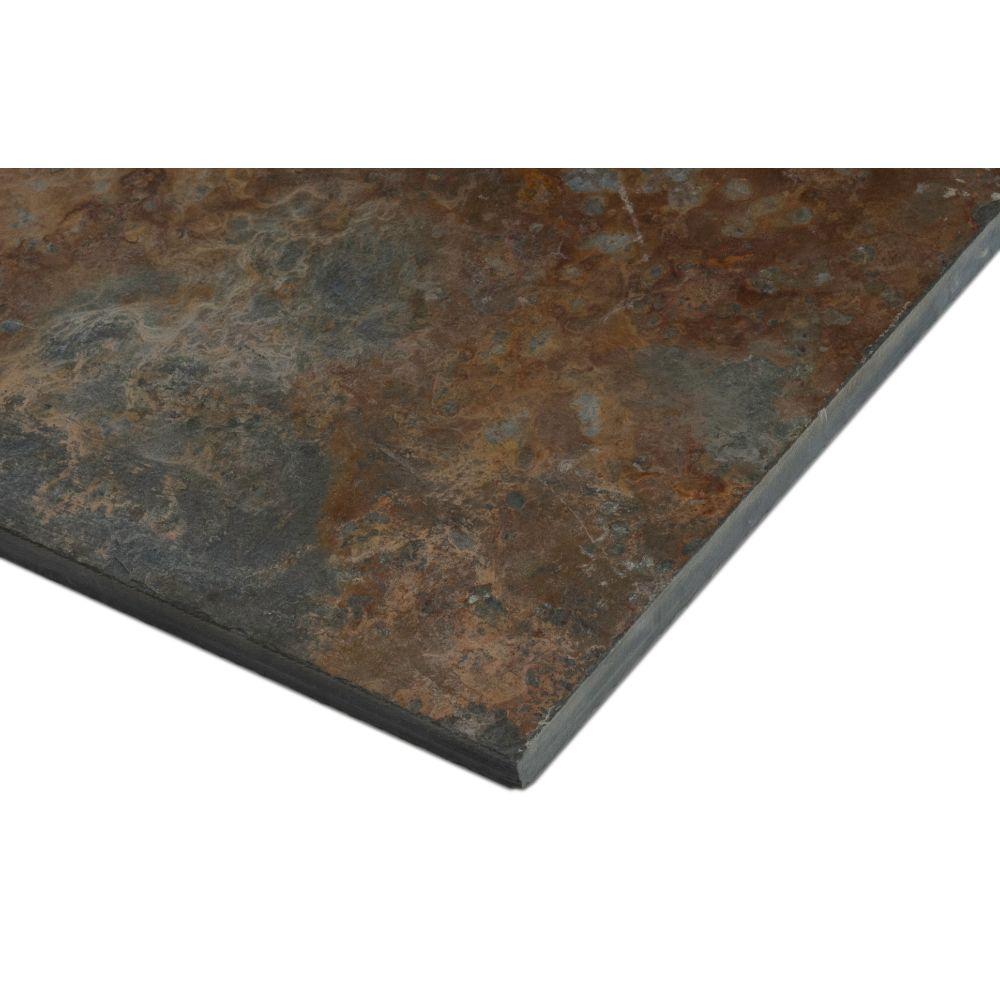 San Rio Rustic 12X12 Gauged Slate Tile