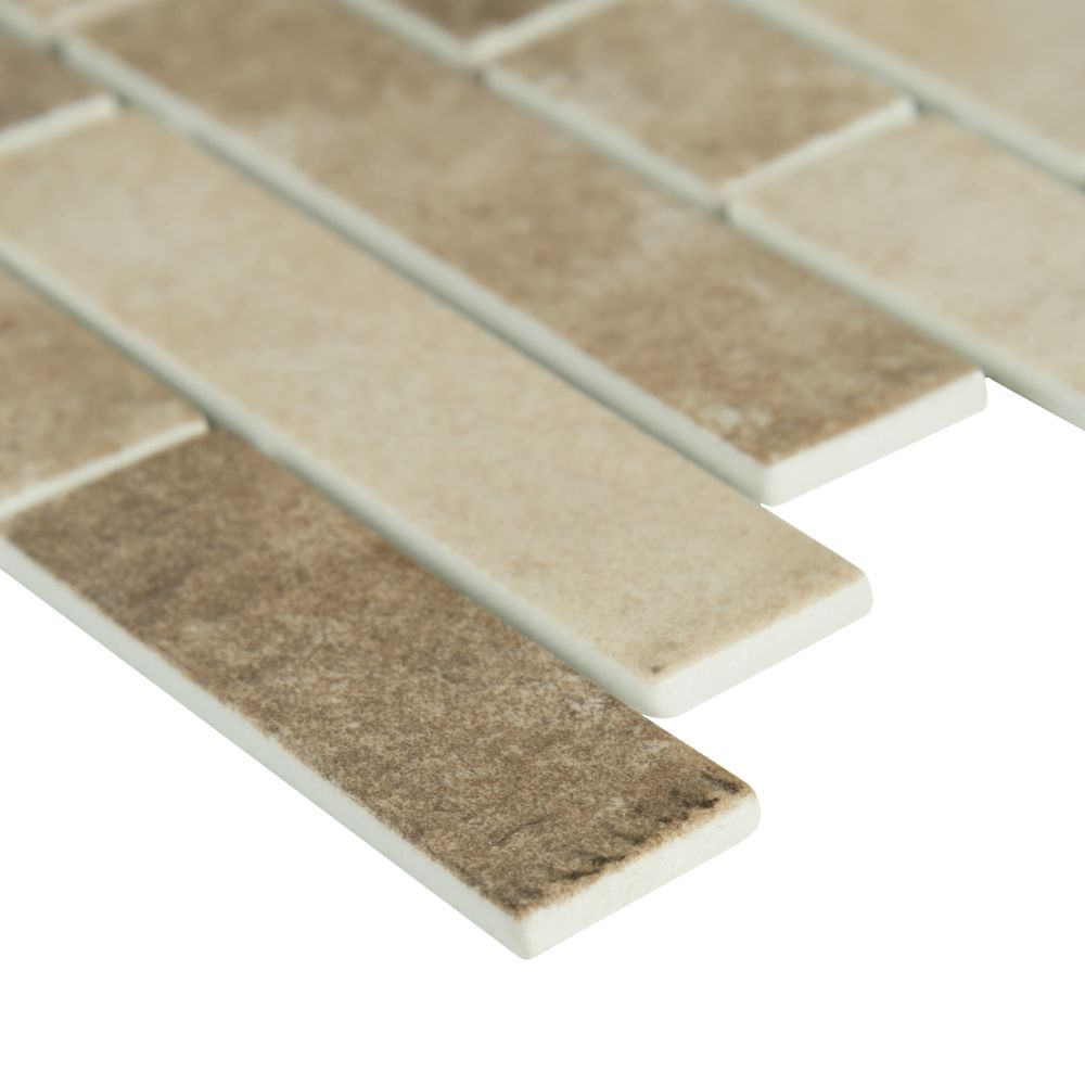 Sandhills Interlocking Pattern Recycled Glass Mosaic