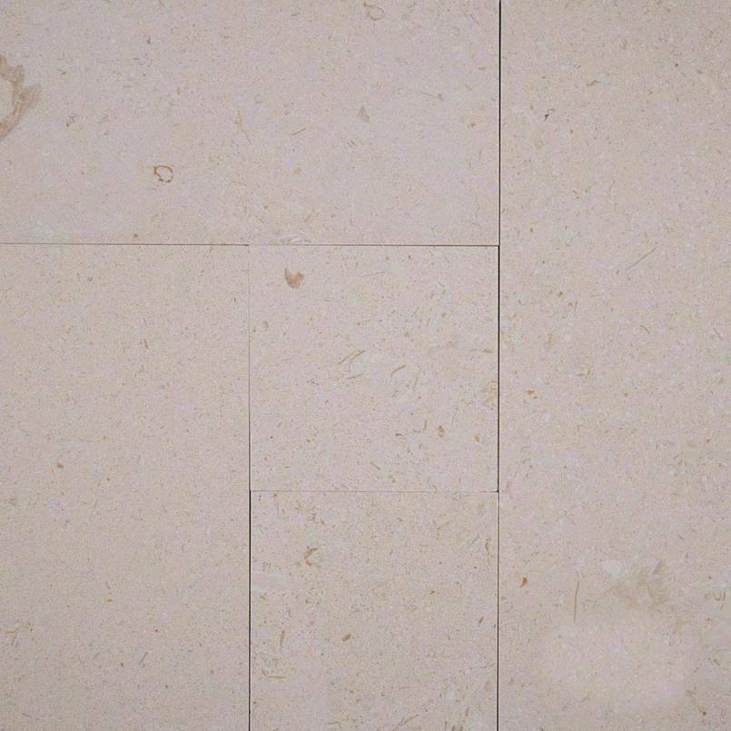 Sandy Pearl 8 Sqft Brushed Pattern Limestone