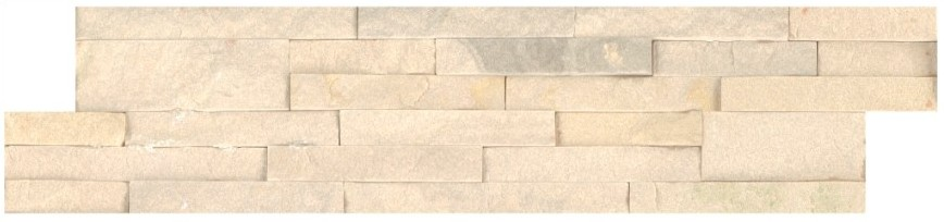 Sedona Beige 6X24 Split Face Ledger Panel