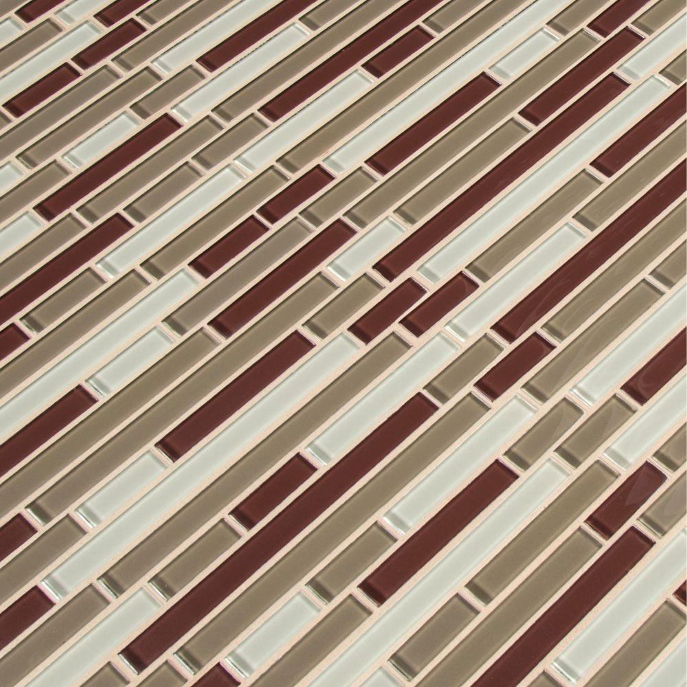 Sedona Blend Interlocking 8MM Mosaic