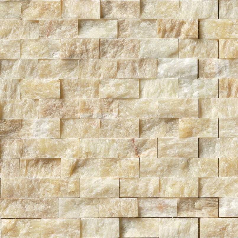 soleil onyx  splitface mosaic tilesbaycom