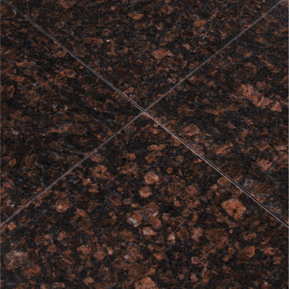 Tan Brown 12X12 Polished Granite Floor Tile