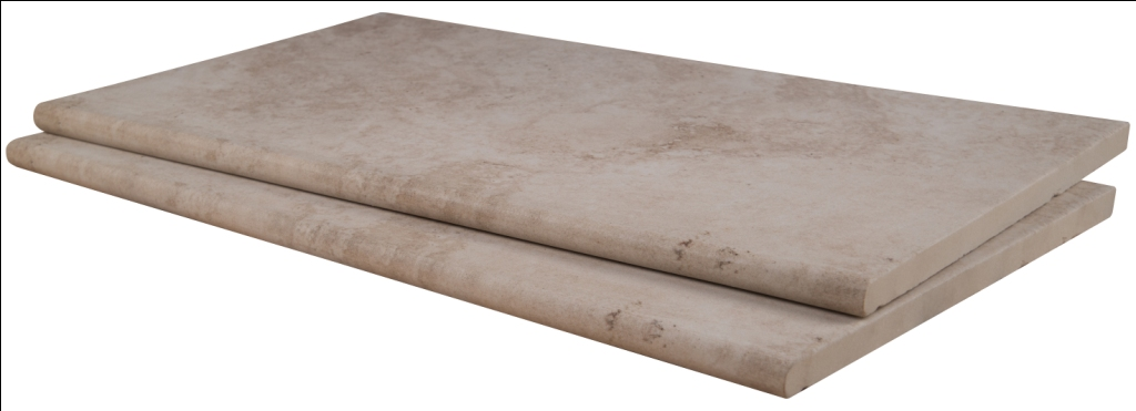 Tierra Beige 13X24 One Long Side Bullnose Pool Coping