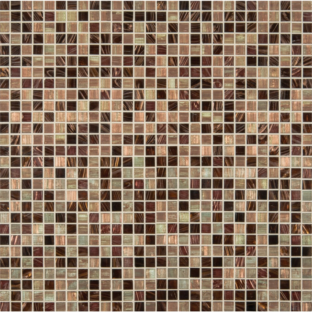 Treasure Trail Iridescent 3/4x3/4x4MM Mosaic