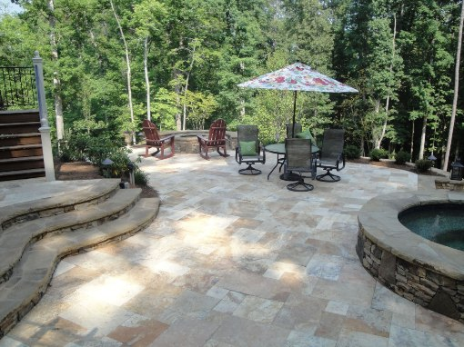 Tuscany Porcini Tumbled Travertine Paver