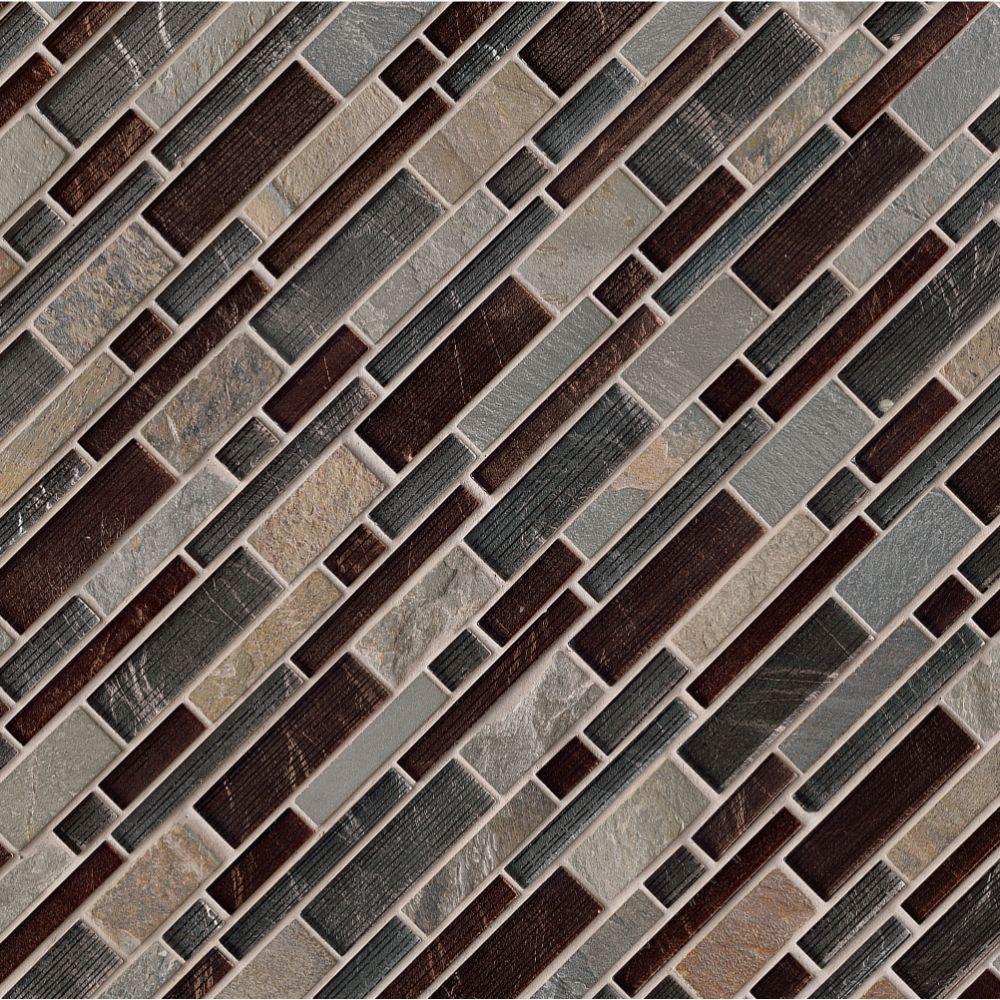 Urbano Blend Interlocking Pattern 8mm