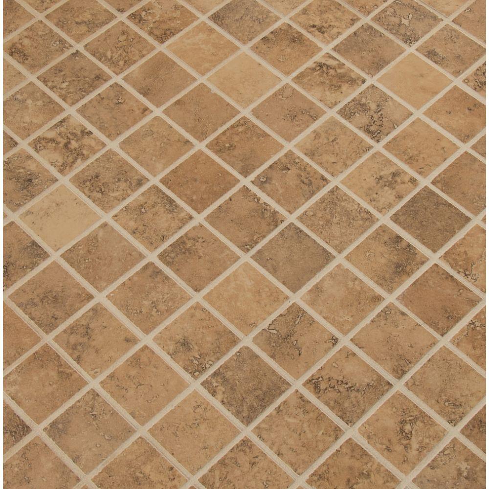 Venice Noce 2X2 Matte Mosaic