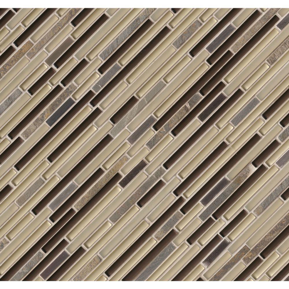 Windsor Canyon Interlocking Pattern Mosaic