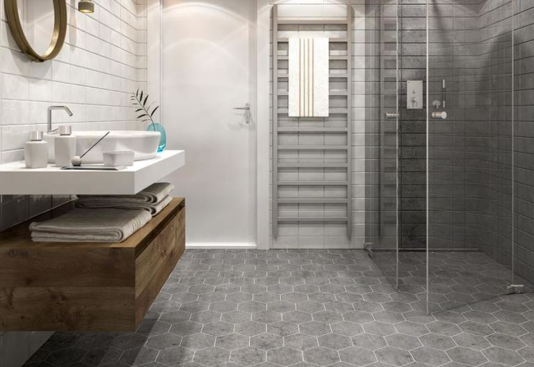 6 advantages of anti slip tiles for your bathroom