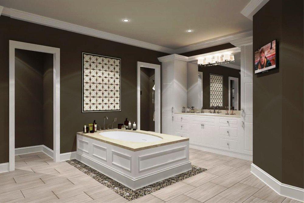 best ceramic tile design ideas for bathrooms