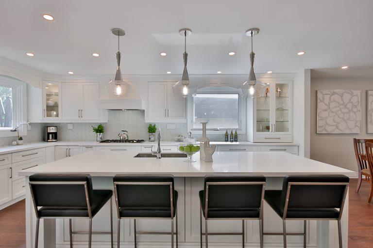 design ideas for l and u shape kitchen