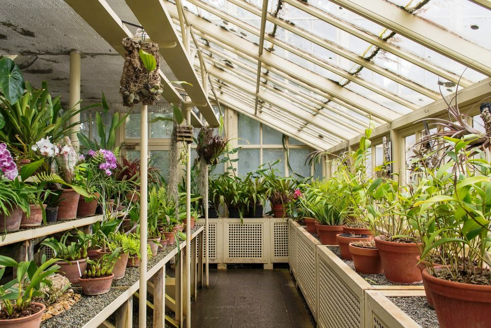 How to choose the perfect stone tiles in use greenhouse design