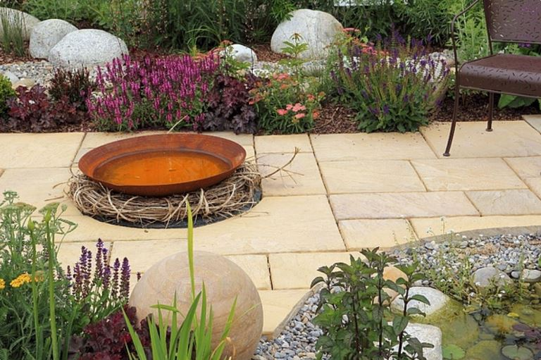 landscape handmade decorative ideas with natural stone