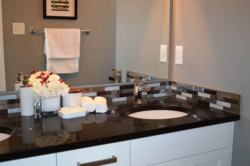 latest unique 3d backsplash tiles for modern bath